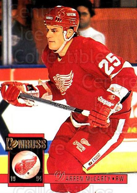 1993-94 Donruss #103 Darren McCarty<br/>1 In Stock - $1.00 each - <a href=https://centericecollectibles.foxycart.com/cart?name=1993-94%20Donruss%20%23103%20Darren%20McCarty...&quantity_max=1&price=$1.00&code=6728 class=foxycart> Buy it now! </a>