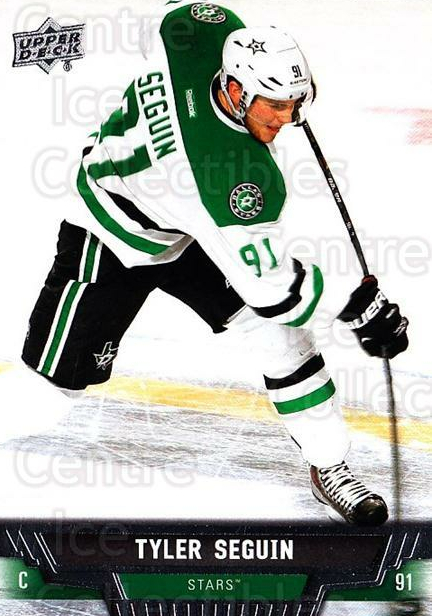 2013-14 Upper Deck #312 Tyler Seguin<br/>13 In Stock - $1.00 each - <a href=https://centericecollectibles.foxycart.com/cart?name=2013-14%20Upper%20Deck%20%23312%20Tyler%20Seguin...&quantity_max=13&price=$1.00&code=672900 class=foxycart> Buy it now! </a>