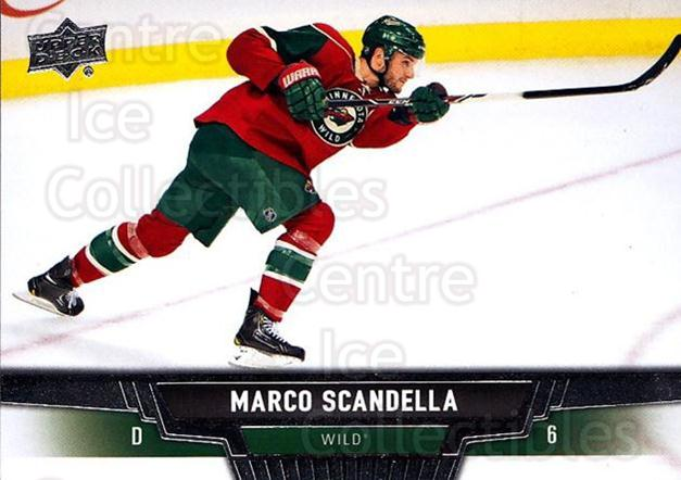 2013-14 Upper Deck #317 Marco Scandella<br/>13 In Stock - $1.00 each - <a href=https://centericecollectibles.foxycart.com/cart?name=2013-14%20Upper%20Deck%20%23317%20Marco%20Scandella...&quantity_max=13&price=$1.00&code=672905 class=foxycart> Buy it now! </a>
