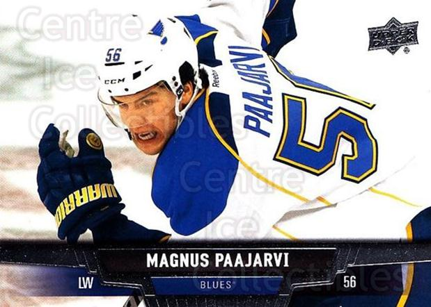 2013-14 Upper Deck #328 Magnus Paajarvi<br/>12 In Stock - $1.00 each - <a href=https://centericecollectibles.foxycart.com/cart?name=2013-14%20Upper%20Deck%20%23328%20Magnus%20Paajarvi...&quantity_max=12&price=$1.00&code=672916 class=foxycart> Buy it now! </a>