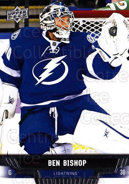 2013-14 Upper Deck #356 Ben Bishop<br/>13 In Stock - $1.00 each - <a href=https://centericecollectibles.foxycart.com/cart?name=2013-14%20Upper%20Deck%20%23356%20Ben%20Bishop...&quantity_max=13&price=$1.00&code=672944 class=foxycart> Buy it now! </a>