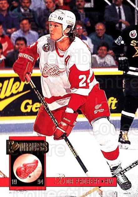 1993-94 Donruss #104 Bob Probert<br/>3 In Stock - $1.00 each - <a href=https://centericecollectibles.foxycart.com/cart?name=1993-94%20Donruss%20%23104%20Bob%20Probert...&quantity_max=3&price=$1.00&code=6729 class=foxycart> Buy it now! </a>
