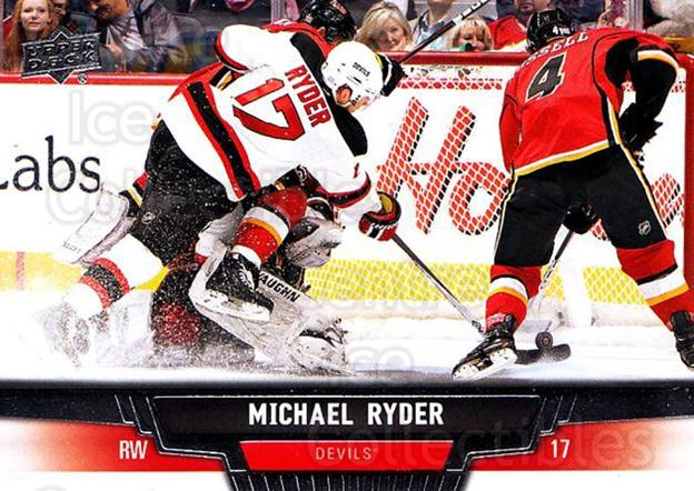 2013-14 Upper Deck #419 Michael Ryder<br/>13 In Stock - $1.00 each - <a href=https://centericecollectibles.foxycart.com/cart?name=2013-14%20Upper%20Deck%20%23419%20Michael%20Ryder...&quantity_max=13&price=$1.00&code=673007 class=foxycart> Buy it now! </a>