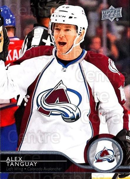 2014-15 Upper Deck #295 Alex Tanguay<br/>11 In Stock - $1.00 each - <a href=https://centericecollectibles.foxycart.com/cart?name=2014-15%20Upper%20Deck%20%23295%20Alex%20Tanguay...&quantity_max=11&price=$1.00&code=673383 class=foxycart> Buy it now! </a>
