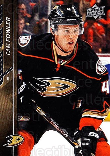 2015-16 Upper Deck #1 Cam Fowler<br/>19 In Stock - $1.00 each - <a href=https://centericecollectibles.foxycart.com/cart?name=2015-16%20Upper%20Deck%20%231%20Cam%20Fowler...&price=$1.00&code=673619 class=foxycart> Buy it now! </a>