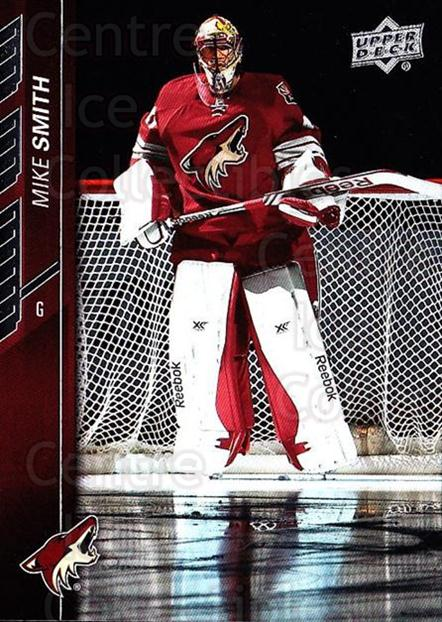 2015-16 Upper Deck #10 Mike Smith<br/>18 In Stock - $1.00 each - <a href=https://centericecollectibles.foxycart.com/cart?name=2015-16%20Upper%20Deck%20%2310%20Mike%20Smith...&quantity_max=18&price=$1.00&code=673628 class=foxycart> Buy it now! </a>
