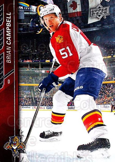 2015-16 Upper Deck #77 Brian Campbell<br/>18 In Stock - $1.00 each - <a href=https://centericecollectibles.foxycart.com/cart?name=2015-16%20Upper%20Deck%20%2377%20Brian%20Campbell...&quantity_max=18&price=$1.00&code=673695 class=foxycart> Buy it now! </a>
