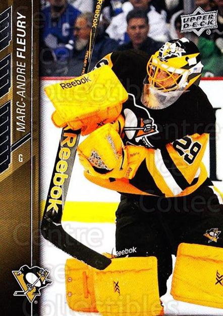 2015-16 Upper Deck #146 Marc-Andre Fleury<br/>7 In Stock - $2.00 each - <a href=https://centericecollectibles.foxycart.com/cart?name=2015-16%20Upper%20Deck%20%23146%20Marc-Andre%20Fleu...&quantity_max=7&price=$2.00&code=673764 class=foxycart> Buy it now! </a>