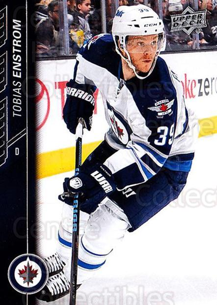 2015-16 Upper Deck #197 Tobias Enstrom<br/>18 In Stock - $1.00 each - <a href=https://centericecollectibles.foxycart.com/cart?name=2015-16%20Upper%20Deck%20%23197%20Tobias%20Enstrom...&quantity_max=18&price=$1.00&code=673815 class=foxycart> Buy it now! </a>