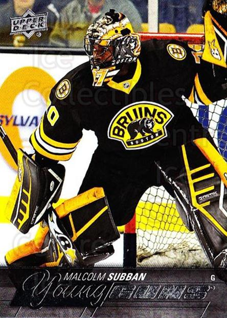 Center Ice Collectibles Malcolm Subban Hockey Cards