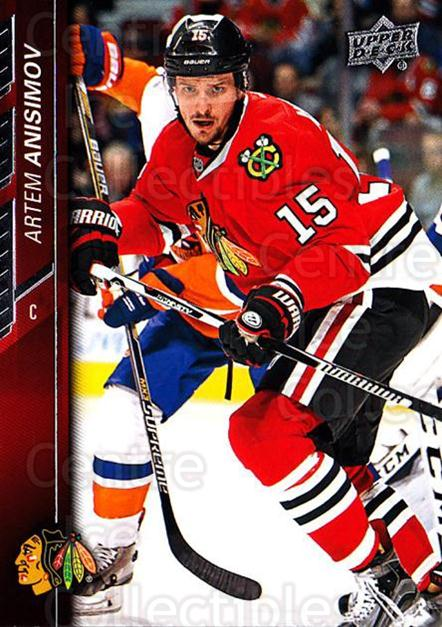 2015-16 Upper Deck #293 Artem Anisimov<br/>16 In Stock - $1.00 each - <a href=https://centericecollectibles.foxycart.com/cart?name=2015-16%20Upper%20Deck%20%23293%20Artem%20Anisimov...&quantity_max=16&price=$1.00&code=673911 class=foxycart> Buy it now! </a>