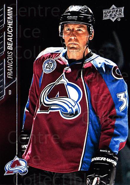 2015-16 Upper Deck #299 Francois Beauchemin<br/>15 In Stock - $1.00 each - <a href=https://centericecollectibles.foxycart.com/cart?name=2015-16%20Upper%20Deck%20%23299%20Francois%20Beauch...&quantity_max=15&price=$1.00&code=673917 class=foxycart> Buy it now! </a>