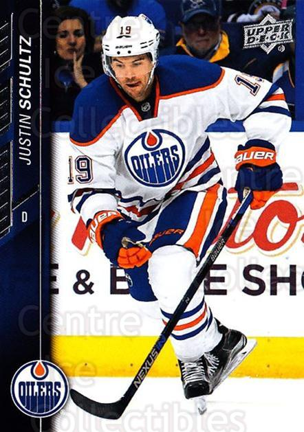 2015-16 Upper Deck #326 Justin Schultz<br/>16 In Stock - $1.00 each - <a href=https://centericecollectibles.foxycart.com/cart?name=2015-16%20Upper%20Deck%20%23326%20Justin%20Schultz...&quantity_max=16&price=$1.00&code=673944 class=foxycart> Buy it now! </a>