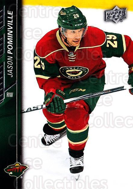 2015-16 Upper Deck #348 Jason Pominville<br/>16 In Stock - $1.00 each - <a href=https://centericecollectibles.foxycart.com/cart?name=2015-16%20Upper%20Deck%20%23348%20Jason%20Pominvill...&quantity_max=16&price=$1.00&code=673966 class=foxycart> Buy it now! </a>