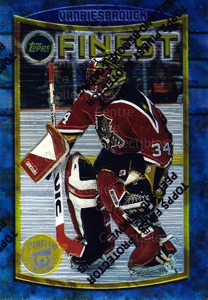 1994-95 Finest Super Team Winner Redeemed #40 John Vanbiesbrouck<br/>8 In Stock - $2.00 each - <a href=https://centericecollectibles.foxycart.com/cart?name=1994-95%20Finest%20Super%20Team%20Winner%20Redeemed%20%2340%20John%20Vanbiesbro...&quantity_max=8&price=$2.00&code=673 class=foxycart> Buy it now! </a>