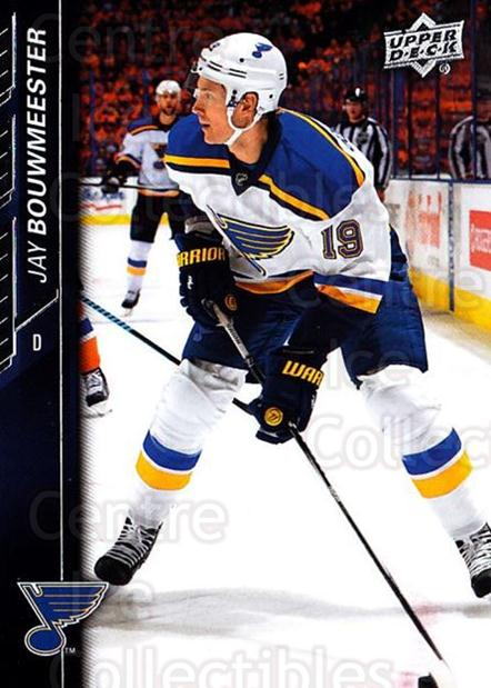 2015-16 Upper Deck #410 Jay Bouwmeester<br/>16 In Stock - $1.00 each - <a href=https://centericecollectibles.foxycart.com/cart?name=2015-16%20Upper%20Deck%20%23410%20Jay%20Bouwmeester...&quantity_max=16&price=$1.00&code=674028 class=foxycart> Buy it now! </a>