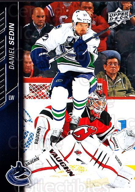 2015-16 Upper Deck #430 Daniel Sedin<br/>15 In Stock - $1.00 each - <a href=https://centericecollectibles.foxycart.com/cart?name=2015-16%20Upper%20Deck%20%23430%20Daniel%20Sedin...&price=$1.00&code=674048 class=foxycart> Buy it now! </a>