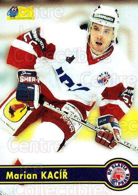1998-99 Czech DS #72 Marian Kacir<br/>5 In Stock - $2.00 each - <a href=https://centericecollectibles.foxycart.com/cart?name=1998-99%20Czech%20DS%20%2372%20Marian%20Kacir...&price=$2.00&code=67446 class=foxycart> Buy it now! </a>