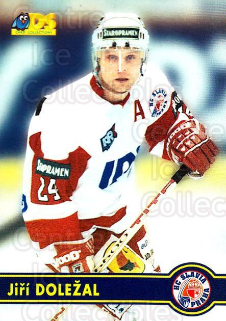 1998-99 Czech DS #75 Jiri Dolezal<br/>11 In Stock - $2.00 each - <a href=https://centericecollectibles.foxycart.com/cart?name=1998-99%20Czech%20DS%20%2375%20Jiri%20Dolezal...&price=$2.00&code=67448 class=foxycart> Buy it now! </a>