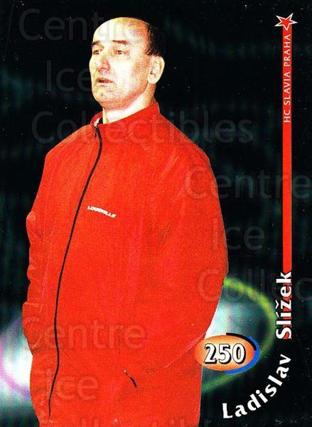 1998-99 Czech OFS #250 Ladislav Slizek<br/>4 In Stock - $2.00 each - <a href=https://centericecollectibles.foxycart.com/cart?name=1998-99%20Czech%20OFS%20%23250%20Ladislav%20Slizek...&price=$2.00&code=67479 class=foxycart> Buy it now! </a>