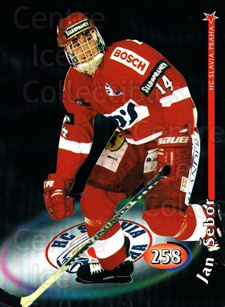 1998-99 Czech OFS #258 Jan Sebor<br/>3 In Stock - $2.00 each - <a href=https://centericecollectibles.foxycart.com/cart?name=1998-99%20Czech%20OFS%20%23258%20Jan%20Sebor...&price=$2.00&code=67484 class=foxycart> Buy it now! </a>