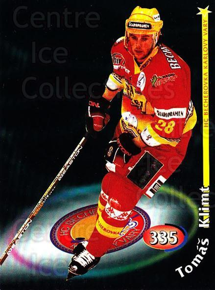 1998-99 Czech OFS #335 Tomas Klimt<br/>4 In Stock - $2.00 each - <a href=https://centericecollectibles.foxycart.com/cart?name=1998-99%20Czech%20OFS%20%23335%20Tomas%20Klimt...&quantity_max=4&price=$2.00&code=67538 class=foxycart> Buy it now! </a>