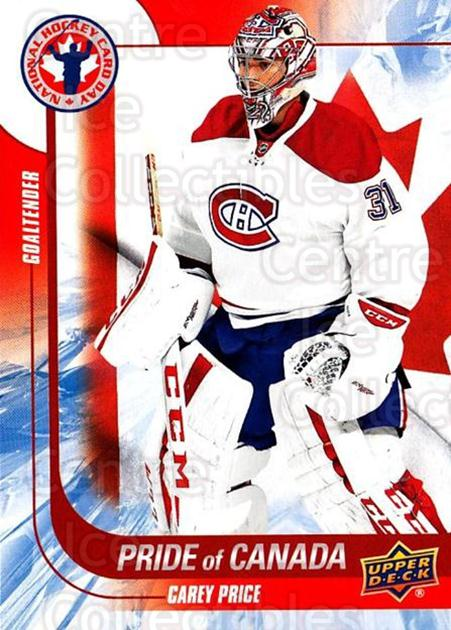 2016 Upper Deck National Hockey Card Day Canada #2 Carey Price<br/>1 In Stock - $2.00 each - <a href=https://centericecollectibles.foxycart.com/cart?name=2016%20Upper%20Deck%20National%20Hockey%20Card%20Day%20Canada%20%232%20Carey%20Price...&price=$2.00&code=677672 class=foxycart> Buy it now! </a>