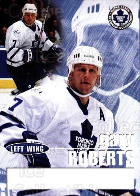 2002-03 Toronto Maple Leafs Platinum #17 Gary Roberts<br/>2 In Stock - $5.00 each - <a href=https://centericecollectibles.foxycart.com/cart?name=2002-03%20Toronto%20Maple%20Leafs%20Platinum%20%2317%20Gary%20Roberts...&quantity_max=2&price=$5.00&code=677744 class=foxycart> Buy it now! </a>