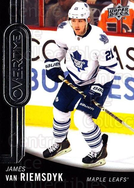 2014-15 Upper Deck Overtime #6 James van Riemsdyk<br/>3 In Stock - $2.00 each - <a href=https://centericecollectibles.foxycart.com/cart?name=2014-15%20Upper%20Deck%20Overtime%20%236%20James%20van%20Riems...&quantity_max=3&price=$2.00&code=677796 class=foxycart> Buy it now! </a>