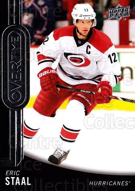 2014-15 Upper Deck Overtime #16 Eric Staal<br/>3 In Stock - $2.00 each - <a href=https://centericecollectibles.foxycart.com/cart?name=2014-15%20Upper%20Deck%20Overtime%20%2316%20Eric%20Staal...&quantity_max=3&price=$2.00&code=677806 class=foxycart> Buy it now! </a>