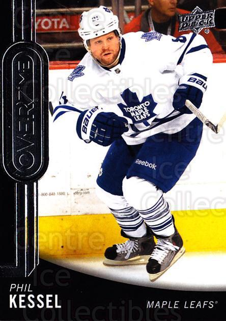 2014-15 Upper Deck Overtime #36 Phil Kessel<br/>3 In Stock - $2.00 each - <a href=https://centericecollectibles.foxycart.com/cart?name=2014-15%20Upper%20Deck%20Overtime%20%2336%20Phil%20Kessel...&quantity_max=3&price=$2.00&code=677826 class=foxycart> Buy it now! </a>