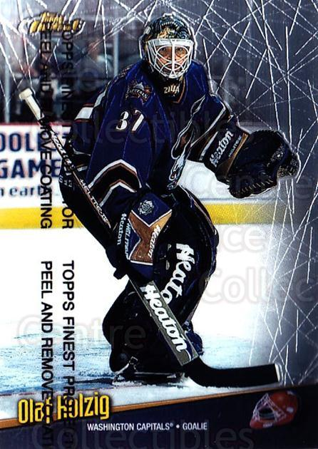 1998-99 Finest #126 Olaf Kolzig<br/>5 In Stock - $1.00 each - <a href=https://centericecollectibles.foxycart.com/cart?name=1998-99%20Finest%20%23126%20Olaf%20Kolzig...&quantity_max=5&price=$1.00&code=67786 class=foxycart> Buy it now! </a>