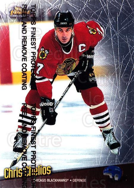 1998-99 Finest #127 Chris Chelios<br/>4 In Stock - $1.00 each - <a href=https://centericecollectibles.foxycart.com/cart?name=1998-99%20Finest%20%23127%20Chris%20Chelios...&quantity_max=4&price=$1.00&code=67787 class=foxycart> Buy it now! </a>