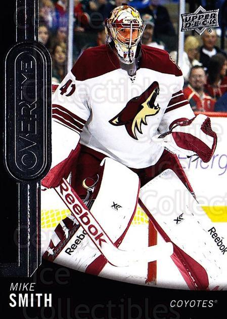 2014-15 Upper Deck Overtime #131 Mike Smith<br/>1 In Stock - $2.00 each - <a href=https://centericecollectibles.foxycart.com/cart?name=2014-15%20Upper%20Deck%20Overtime%20%23131%20Mike%20Smith...&quantity_max=1&price=$2.00&code=677921 class=foxycart> Buy it now! </a>
