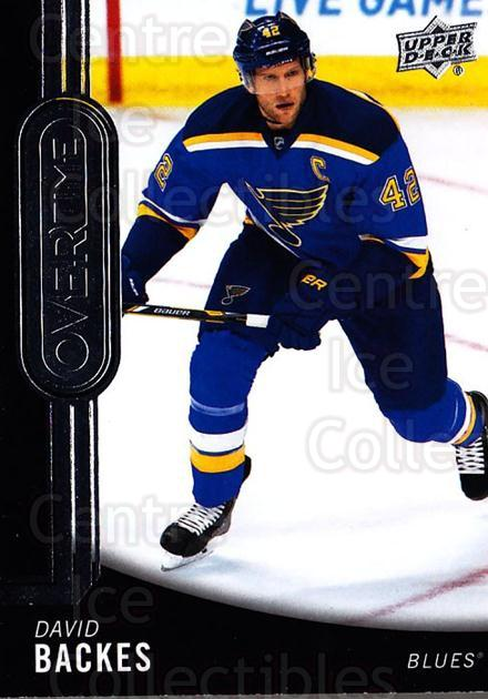 2014-15 Upper Deck Overtime #152 David Backes<br/>1 In Stock - $2.00 each - <a href=https://centericecollectibles.foxycart.com/cart?name=2014-15%20Upper%20Deck%20Overtime%20%23152%20David%20Backes...&quantity_max=1&price=$2.00&code=677942 class=foxycart> Buy it now! </a>