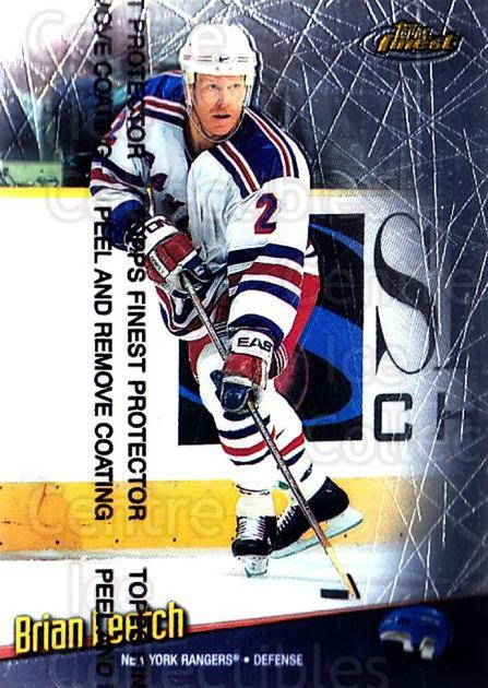 1998-99 Finest #137 Brian Leetch<br/>5 In Stock - $1.00 each - <a href=https://centericecollectibles.foxycart.com/cart?name=1998-99%20Finest%20%23137%20Brian%20Leetch...&quantity_max=5&price=$1.00&code=67797 class=foxycart> Buy it now! </a>
