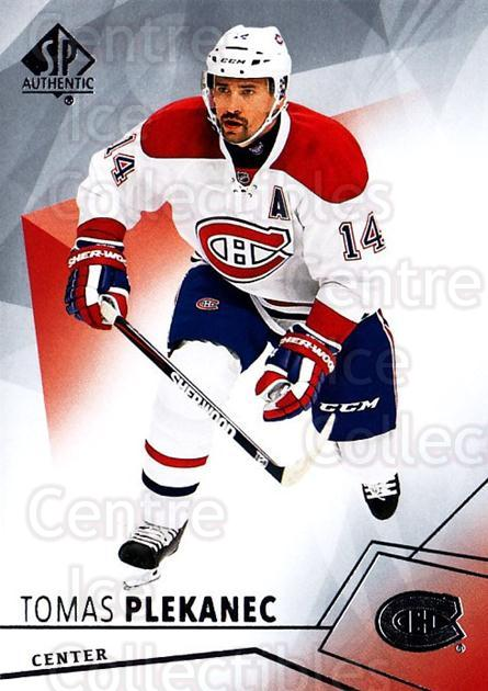 2015-16 SP Authentic #31 Tomas Plekanec<br/>11 In Stock - $1.00 each - <a href=https://centericecollectibles.foxycart.com/cart?name=2015-16%20SP%20Authentic%20%2331%20Tomas%20Plekanec...&quantity_max=11&price=$1.00&code=678001 class=foxycart> Buy it now! </a>