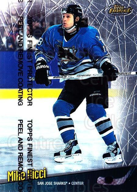 1998-99 Finest #145 Mike Ricci<br/>5 In Stock - $1.00 each - <a href=https://centericecollectibles.foxycart.com/cart?name=1998-99%20Finest%20%23145%20Mike%20Ricci...&quantity_max=5&price=$1.00&code=67806 class=foxycart> Buy it now! </a>