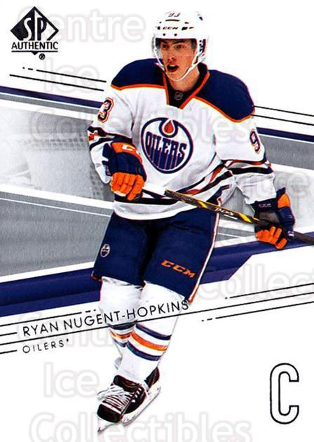 2014-15 SP Authentic #13 Ryan Nugent-Hopkins<br/>2 In Stock - $1.00 each - <a href=https://centericecollectibles.foxycart.com/cart?name=2014-15%20SP%20Authentic%20%2313%20Ryan%20Nugent-Hop...&price=$1.00&code=678268 class=foxycart> Buy it now! </a>
