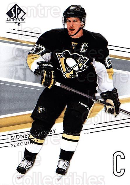 2014-15 SP Authentic #16 Sidney Crosby<br/>2 In Stock - $3.00 each - <a href=https://centericecollectibles.foxycart.com/cart?name=2014-15%20SP%20Authentic%20%2316%20Sidney%20Crosby...&price=$3.00&code=678271 class=foxycart> Buy it now! </a>