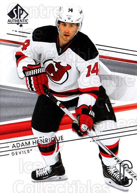 2014-15 SP Authentic #78 Adam Henrique<br/>2 In Stock - $1.00 each - <a href=https://centericecollectibles.foxycart.com/cart?name=2014-15%20SP%20Authentic%20%2378%20Adam%20Henrique...&quantity_max=2&price=$1.00&code=678333 class=foxycart> Buy it now! </a>