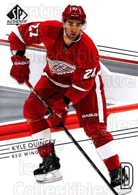 2014-15 SP Authentic #87 Kyle Quincey<br/>2 In Stock - $1.00 each - <a href=https://centericecollectibles.foxycart.com/cart?name=2014-15%20SP%20Authentic%20%2387%20Kyle%20Quincey...&quantity_max=2&price=$1.00&code=678342 class=foxycart> Buy it now! </a>