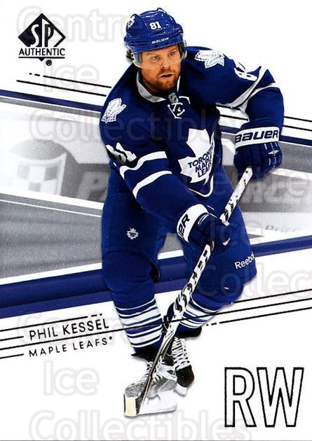 2014-15 SP Authentic #100 Phil Kessel<br/>2 In Stock - $1.00 each - <a href=https://centericecollectibles.foxycart.com/cart?name=2014-15%20SP%20Authentic%20%23100%20Phil%20Kessel...&quantity_max=2&price=$1.00&code=678355 class=foxycart> Buy it now! </a>