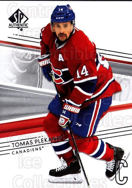 2014-15 SP Authentic #130 Tomas Plekanec<br/>2 In Stock - $1.00 each - <a href=https://centericecollectibles.foxycart.com/cart?name=2014-15%20SP%20Authentic%20%23130%20Tomas%20Plekanec...&quantity_max=2&price=$1.00&code=678385 class=foxycart> Buy it now! </a>