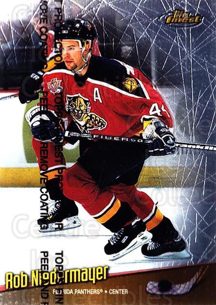 1998-99 Finest #41 Rob Niedermayer<br/>5 In Stock - $1.00 each - <a href=https://centericecollectibles.foxycart.com/cart?name=1998-99%20Finest%20%2341%20Rob%20Niedermayer...&quantity_max=5&price=$1.00&code=67840 class=foxycart> Buy it now! </a>
