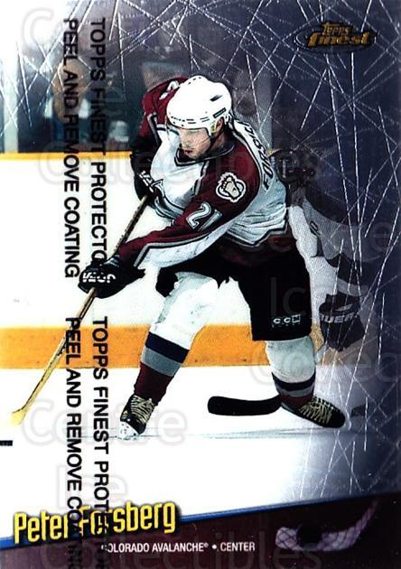 1998-99 Finest #6 Peter Forsberg<br/>3 In Stock - $1.00 each - <a href=https://centericecollectibles.foxycart.com/cart?name=1998-99%20Finest%20%236%20Peter%20Forsberg...&quantity_max=3&price=$1.00&code=67859 class=foxycart> Buy it now! </a>