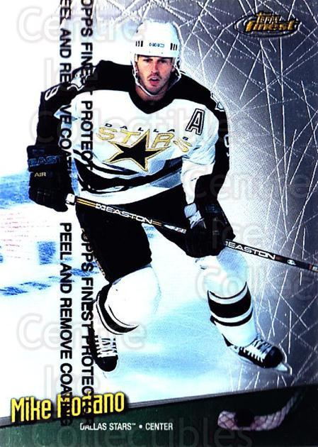 1998-99 Finest #75 Mike Modano<br/>5 In Stock - $1.00 each - <a href=https://centericecollectibles.foxycart.com/cart?name=1998-99%20Finest%20%2375%20Mike%20Modano...&quantity_max=5&price=$1.00&code=67875 class=foxycart> Buy it now! </a>