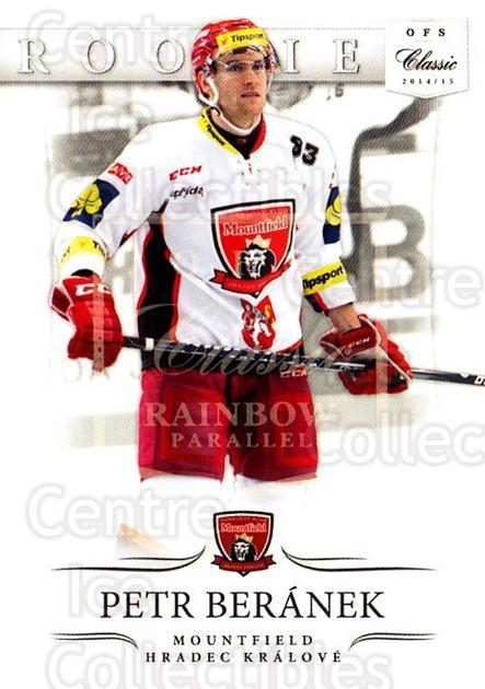 2014-15 Czech OFS Classic Rainbow #245 Petr Beranek<br/>1 In Stock - $3.00 each - <a href=https://centericecollectibles.foxycart.com/cart?name=2014-15%20Czech%20OFS%20Classic%20Rainbow%20%23245%20Petr%20Beranek...&quantity_max=1&price=$3.00&code=678820 class=foxycart> Buy it now! </a>