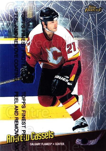 1998-99 Finest #82 Andrew Cassels<br/>5 In Stock - $1.00 each - <a href=https://centericecollectibles.foxycart.com/cart?name=1998-99%20Finest%20%2382%20Andrew%20Cassels...&quantity_max=5&price=$1.00&code=67883 class=foxycart> Buy it now! </a>