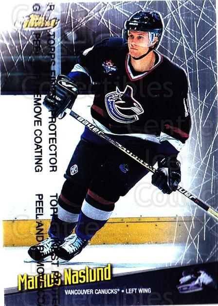 1998-99 Finest #90 Markus Naslund<br/>5 In Stock - $1.00 each - <a href=https://centericecollectibles.foxycart.com/cart?name=1998-99%20Finest%20%2390%20Markus%20Naslund...&quantity_max=5&price=$1.00&code=67892 class=foxycart> Buy it now! </a>